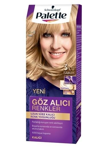 Palette Palette Yoğun Göz Alıcı Renkler Saç Boyası 9-0 Renkli